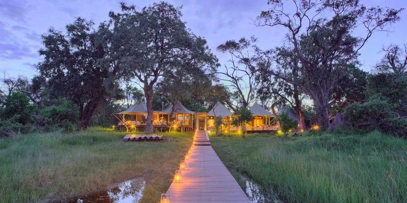 Mapula Lodge in Okavango Delta